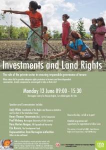 Flyer 13 June.