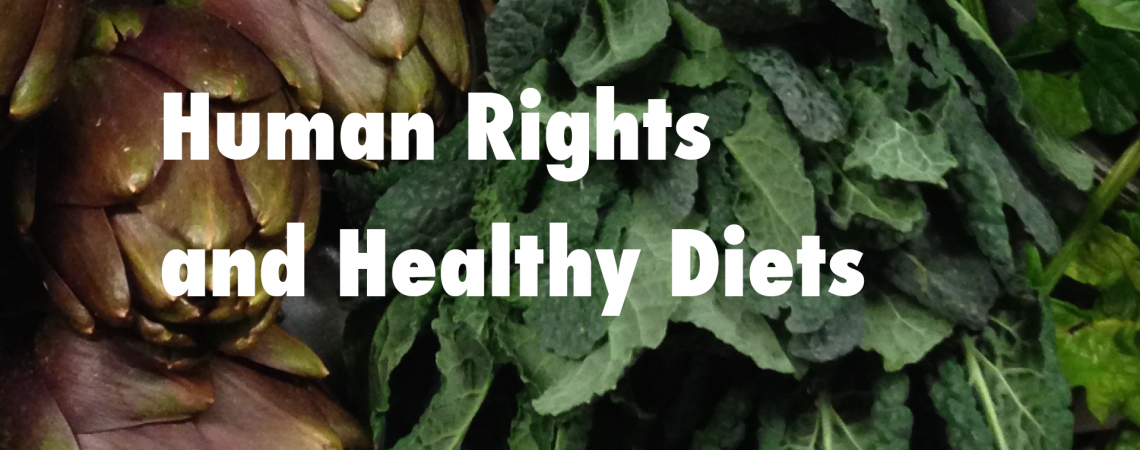 New Publication: Human Rights and Healthy Diets