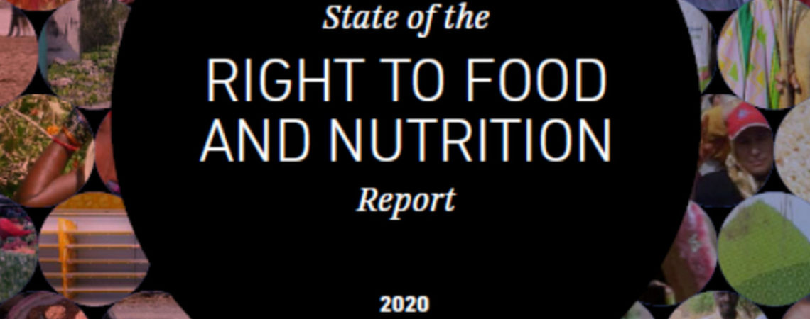 NY RAPPORT: The Right to Food and Nutrition Report 2020